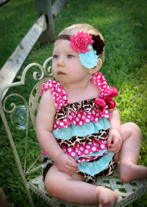 Polka Dot Lace Rompers