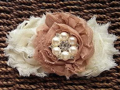 Coffee and Cream Headband