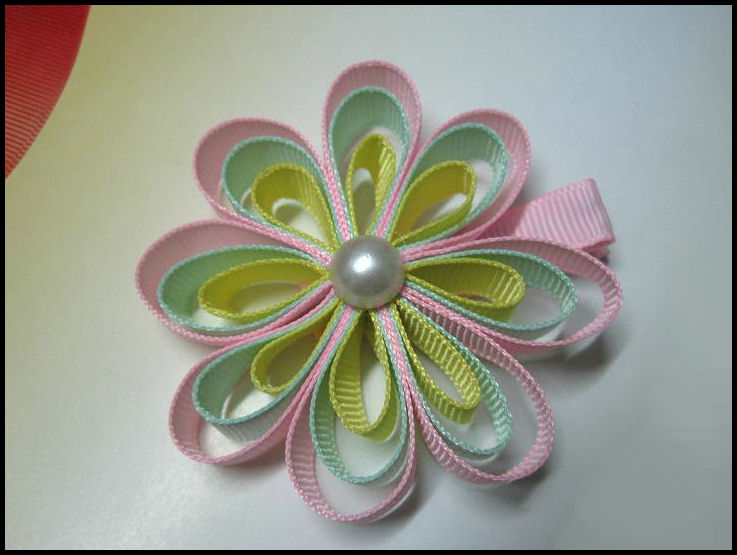Ribbonflower Pink/Green