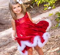 Girls Miss Santa dress