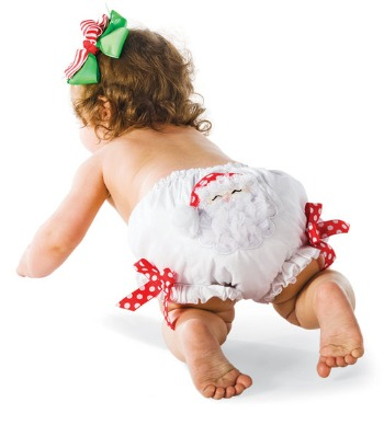 Cotton Santa Bloomers