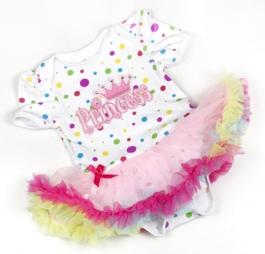 Pastel Princess birthday Onesie