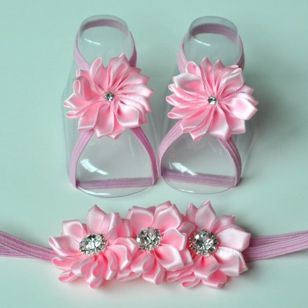 Satin Bling Shoe sets
