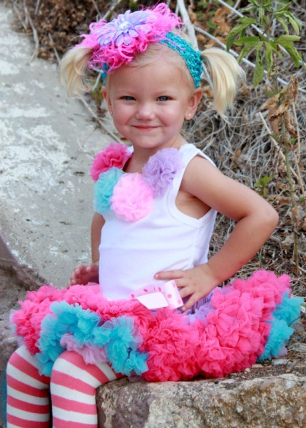 Popsicle Pettiskirt Set