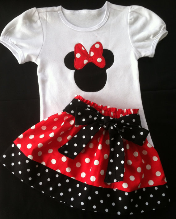 Red Minnie Mouse Set