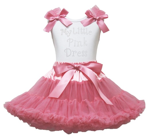 My Little Pink Dress Outfit