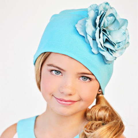Cotton Flower Beanies