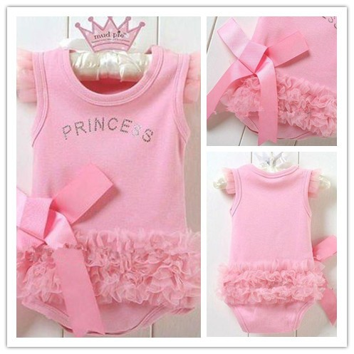 Pink Princess birthday Onesie