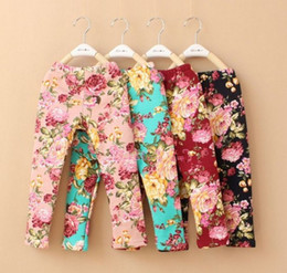 Floral Winter leggings