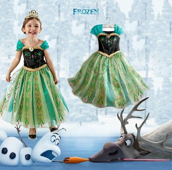 Princess Frozen Dress