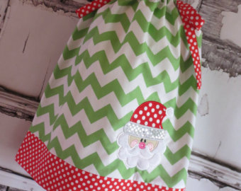 Green Christmas Pillowcase Dress