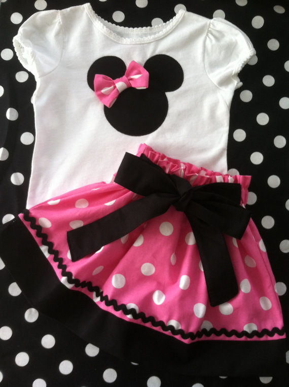 Pink Minnie Mouse Set